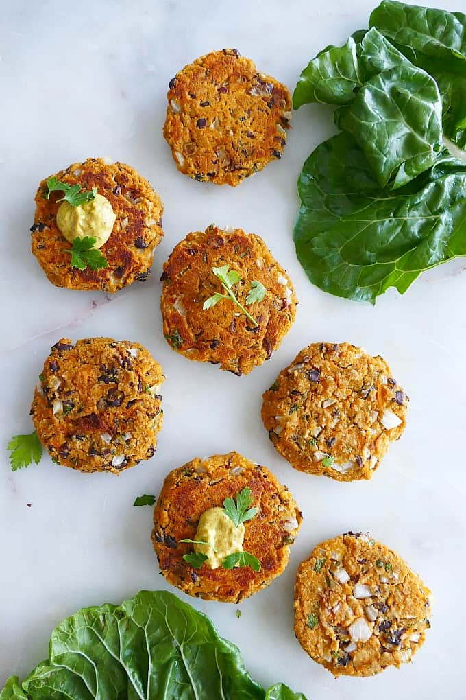 sweet potato black bean patties
