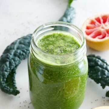 Green Grapefruit Smoothie