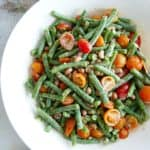 Green Bean and Black Eyed Pea Salad