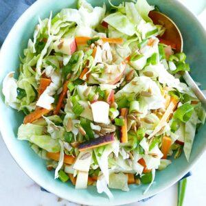 crunchy cabbage slaw