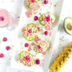 Blistered Corn Avocado Cups