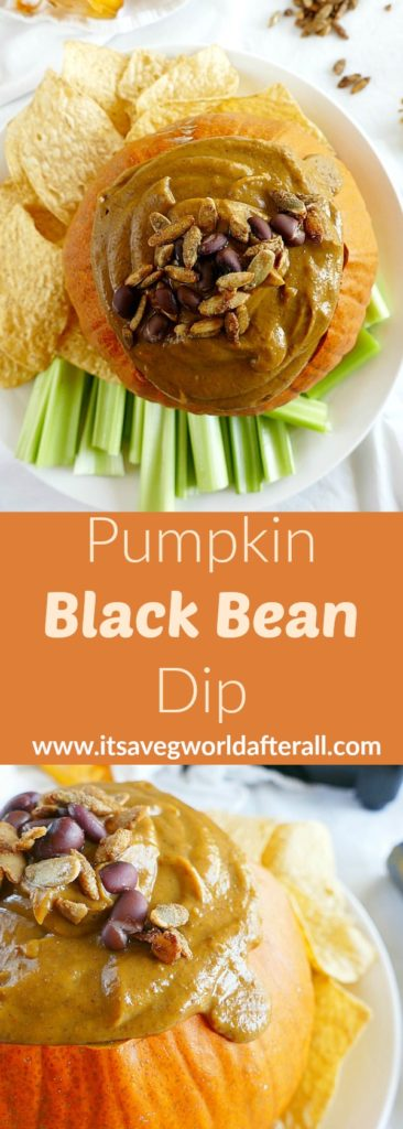 Pumpkin Black Bean Dip
