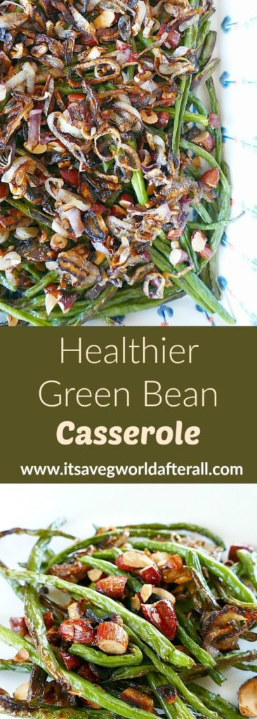 Healthier Green Bean Casserole