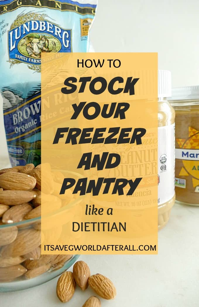Easy tips to stock your freezer and pantry with healthy, affordable healthy foods