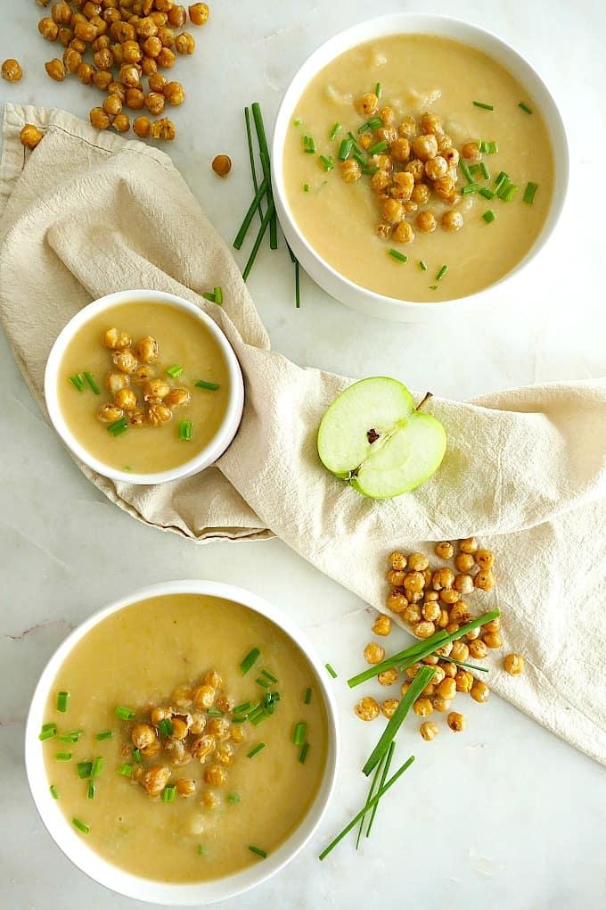 Celeriac and Apple Soup