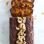 Paleo Carrot Banana Breakfast Bread
