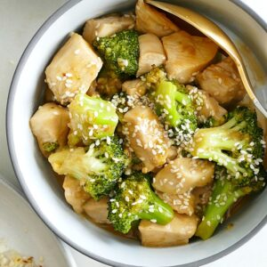 Paleo Sesame Broccoli and Chicken