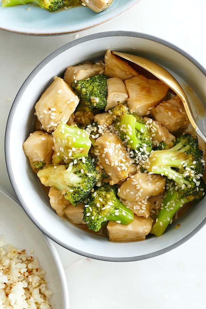 Paleo Sesame Broccoli and Chicken
