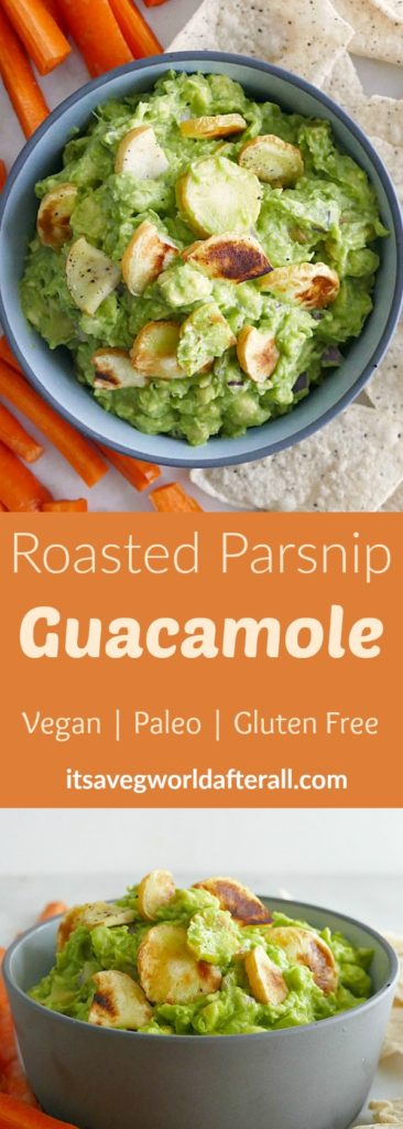 Roasted Parsnip Guacamole