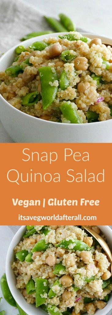 Sugar Snap Pea Quinoa Salad