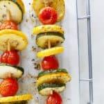 italian zucchini kabobs