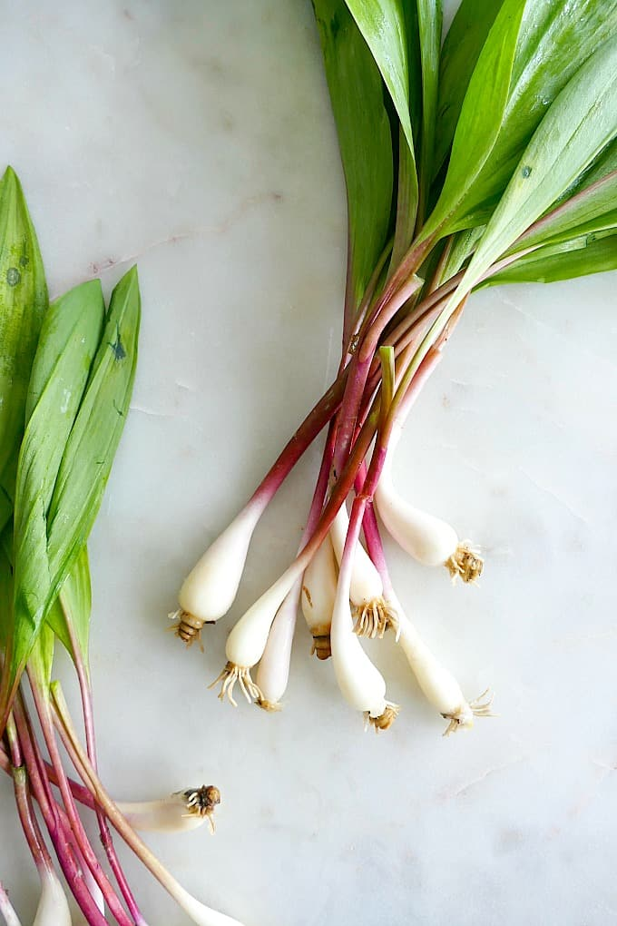 lemon grilled ramps