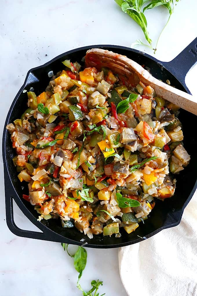 One Pan Ratatouille