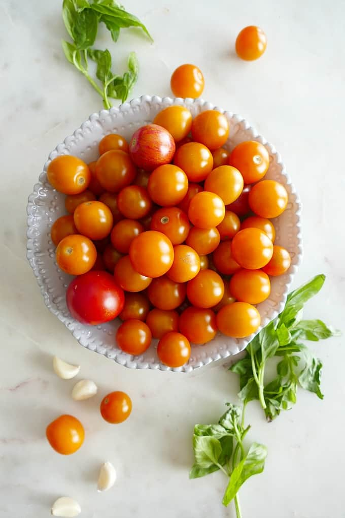 Roasted Cherry Tomato Sauce with Fresh Herbs