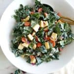 Chopped Kale Salad with Tahini Dressing