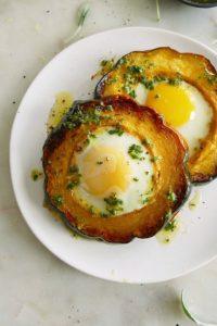 Acorn Squash Eggs