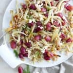 Roasted Fennel and Grapes with Feta