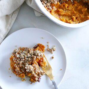 Lighter Sweet Potato Casserole