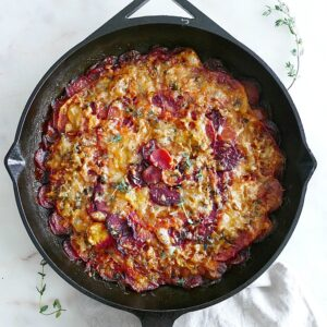 Turnip and Beet Gratin
