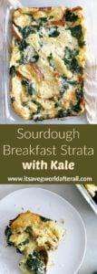 Sourdough Breakfast Strata with Kale