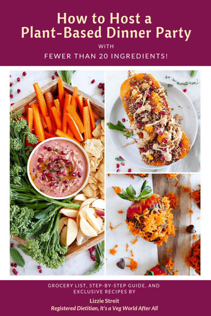 How to Host a Plant-Based Dinner Party eBook