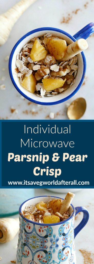 Parsnip Pear Crisp