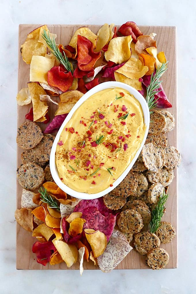 Whipped Butternut Squash Goat Cheese Dip
