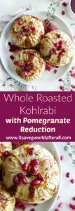 Whole Roasted Kohlrabi