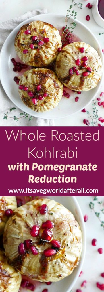 Whole Roasted Kohlrabi