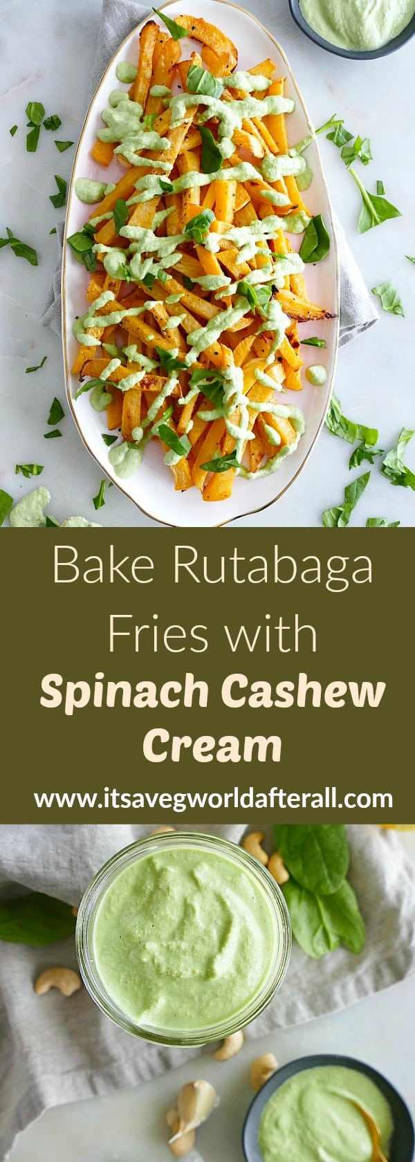 Baked Rutabaga Fries