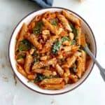 pumpkin tomato pasta