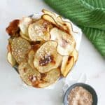 Coconut Cinnamon Irish Potato Chips