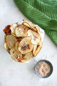 Coconut Cinnamon Irish Potato Chips