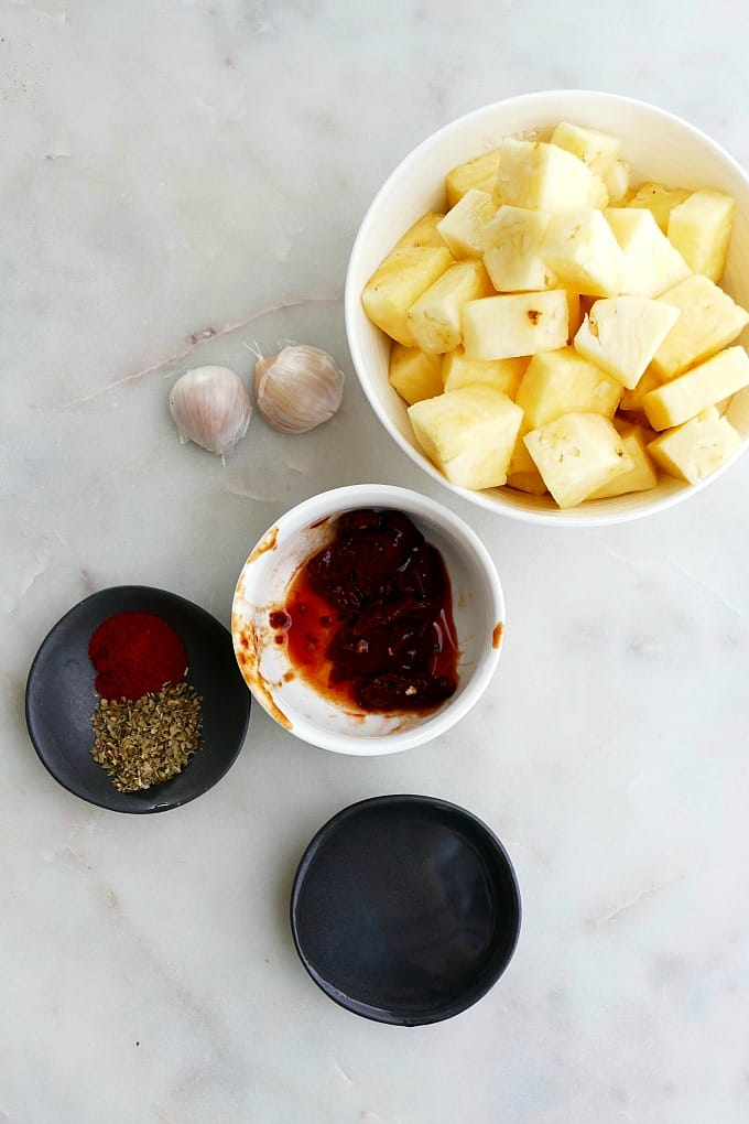 pineapple and other ingredients