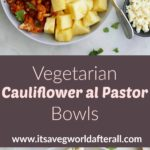 cauliflower al pastor pin