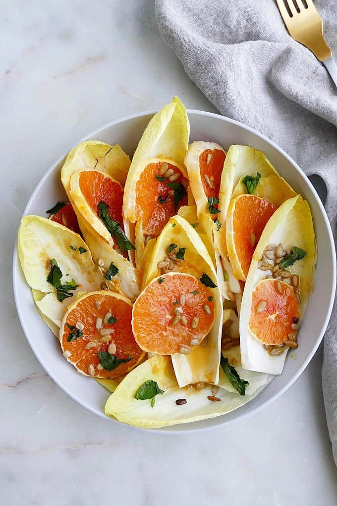 belgian endive orange salad
