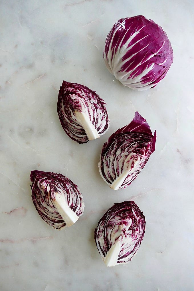 radicchio wedges