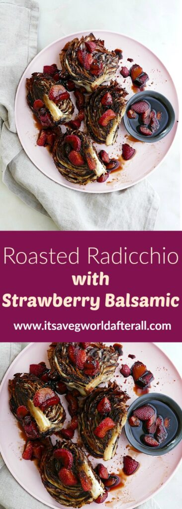 roasted radicchio pin