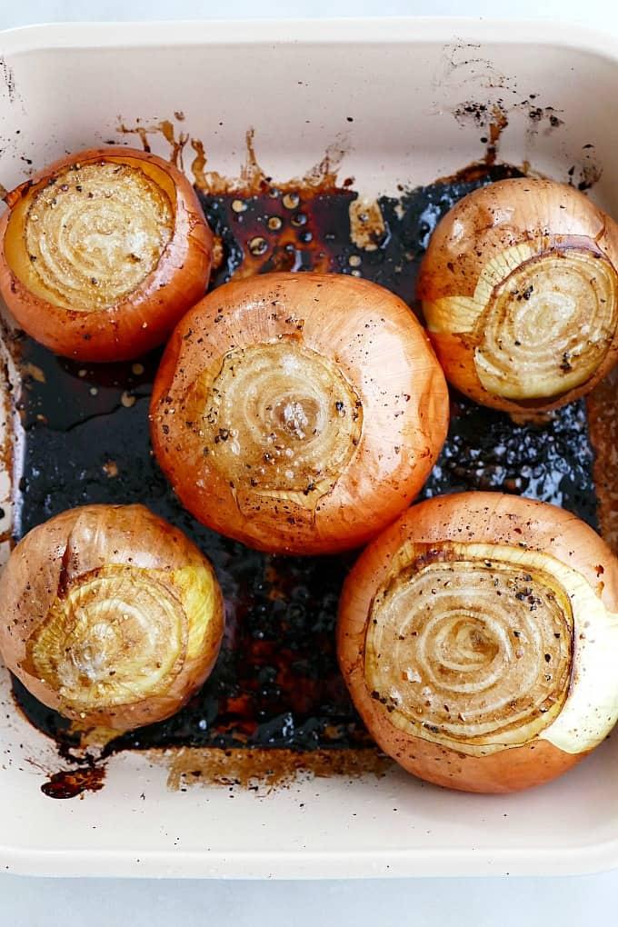 Whole Roasted Onions