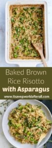 pin for brown rice risotto