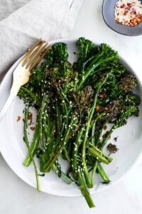 chili sesame broccolini