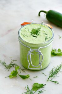 creamy jalapeno sauce