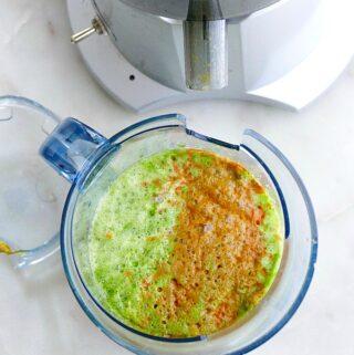 carrot ginger kale juice