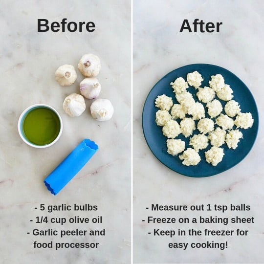 freezing garlic instructions
