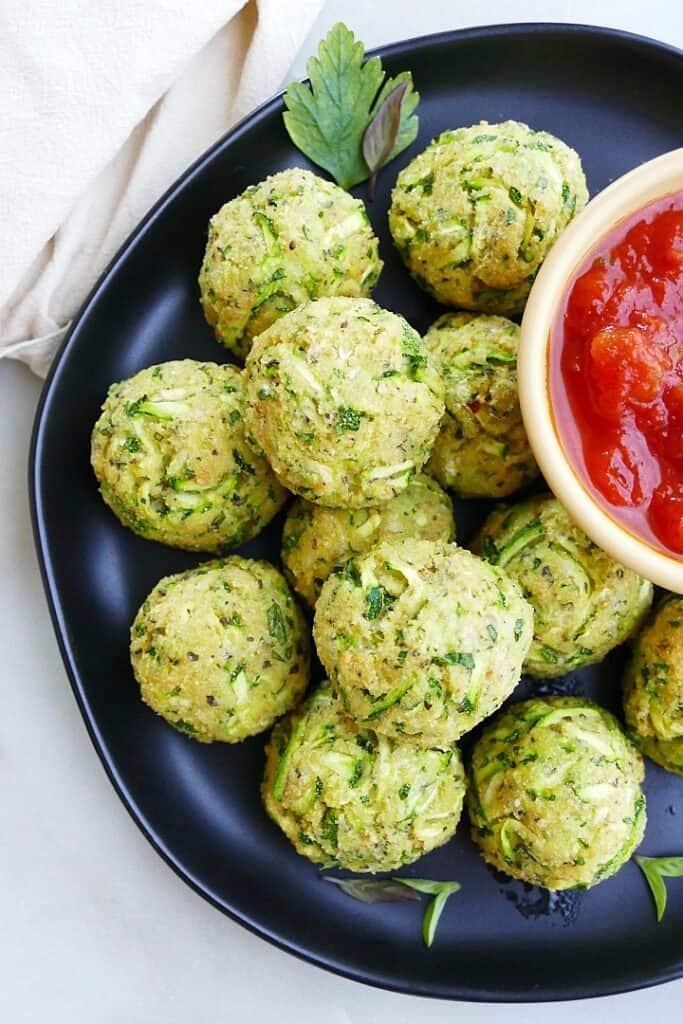 Courgette Balls