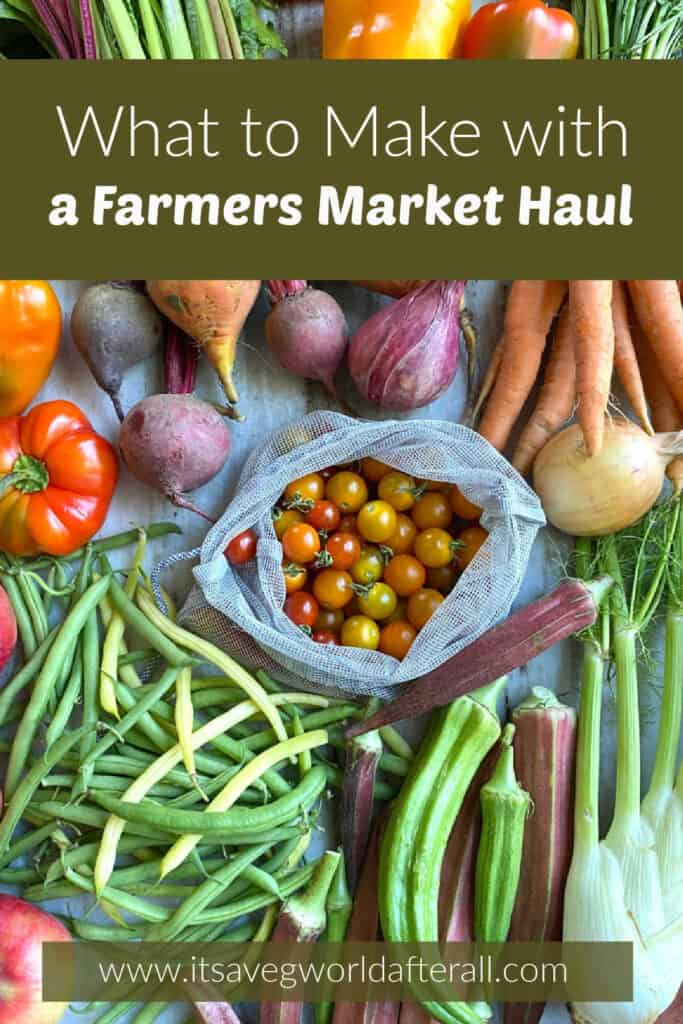 سبزیجات بازار مزرعه با پست مقاله ، عنوان عنوان و نام وب سایت در قفسه ها پخش می شود